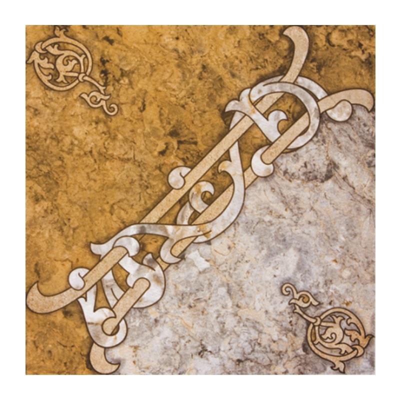 ВКЗ Арабская вязь Плитка напольная 327х327х8мм глазурованная, серия Люкс