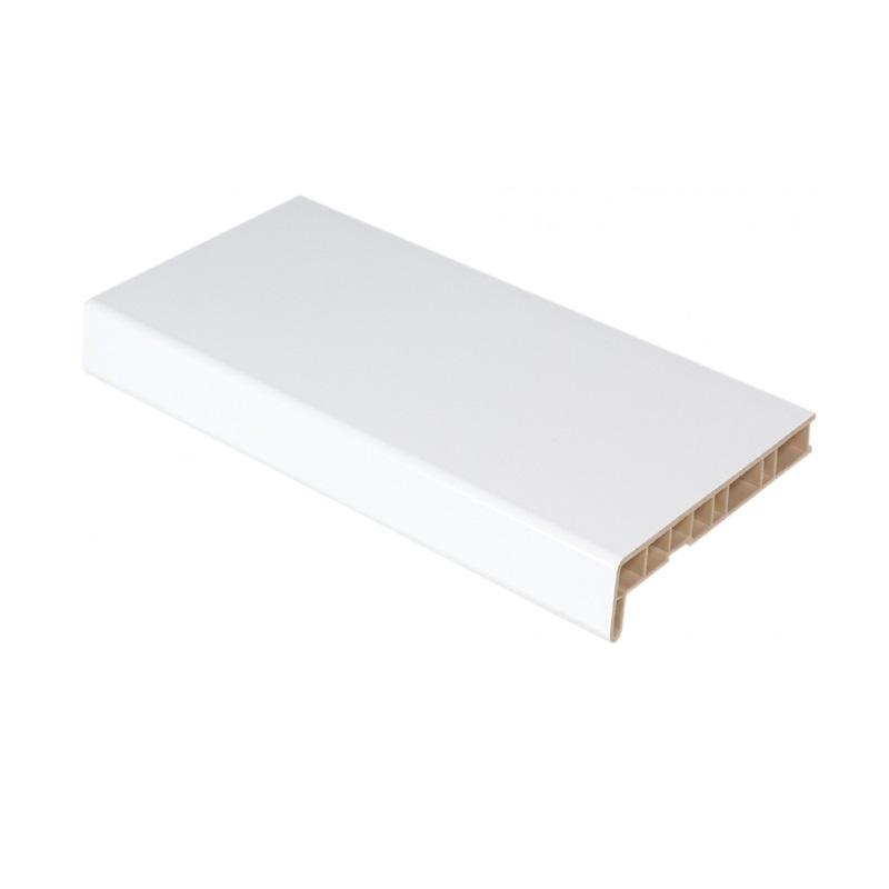 Подоконник ПВХ 400мм Белый (2п.м)