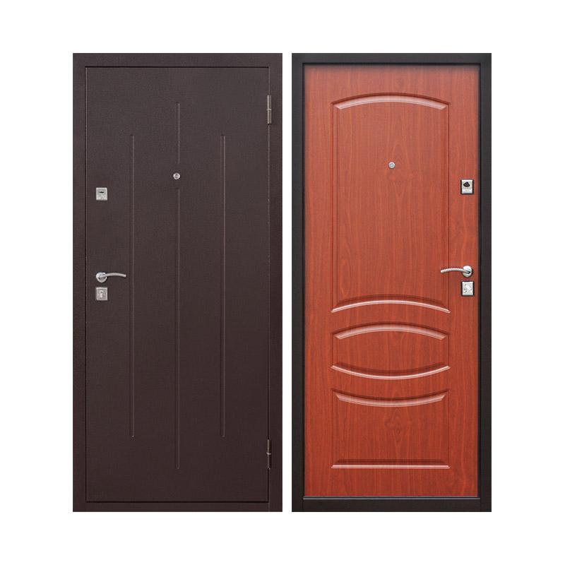 Дверной блок металл. стандарт, 960х2050 левый