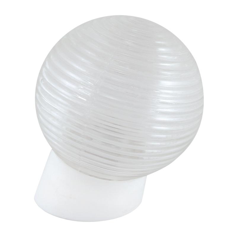 Светильник НББ E27, 60Вт, 230В, IP20, наклонное основание, шар, стекло