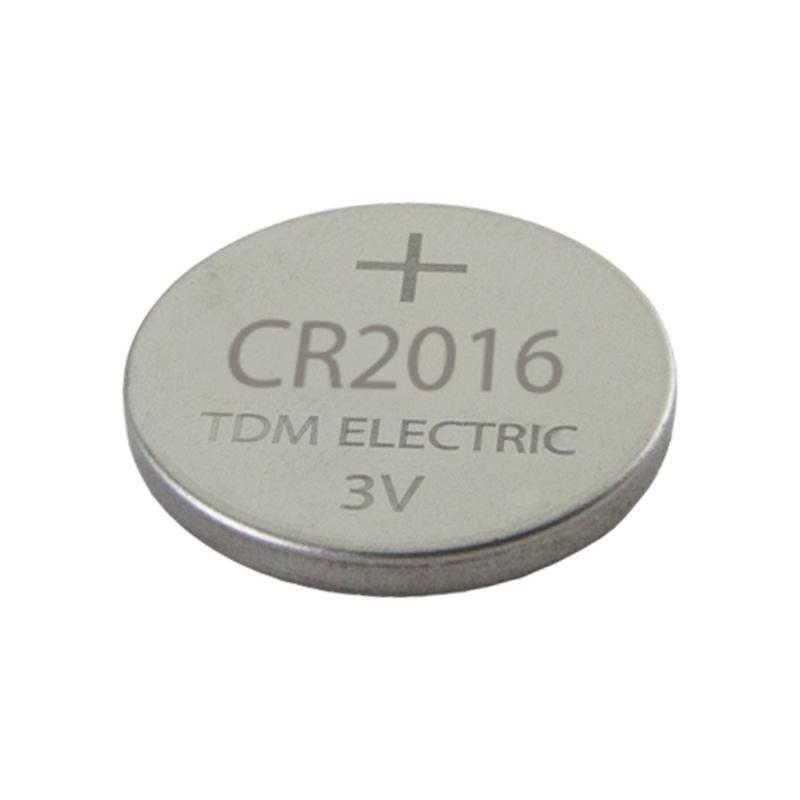 Элемент питания литиевый, тип CR2016, дисковый (таблетка), 3В, 80мА*ч